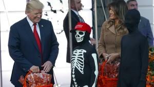 Ein schauriges Halloween für Donald Trump