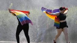 Tausende Menschen bei Homosexuellen-Parade