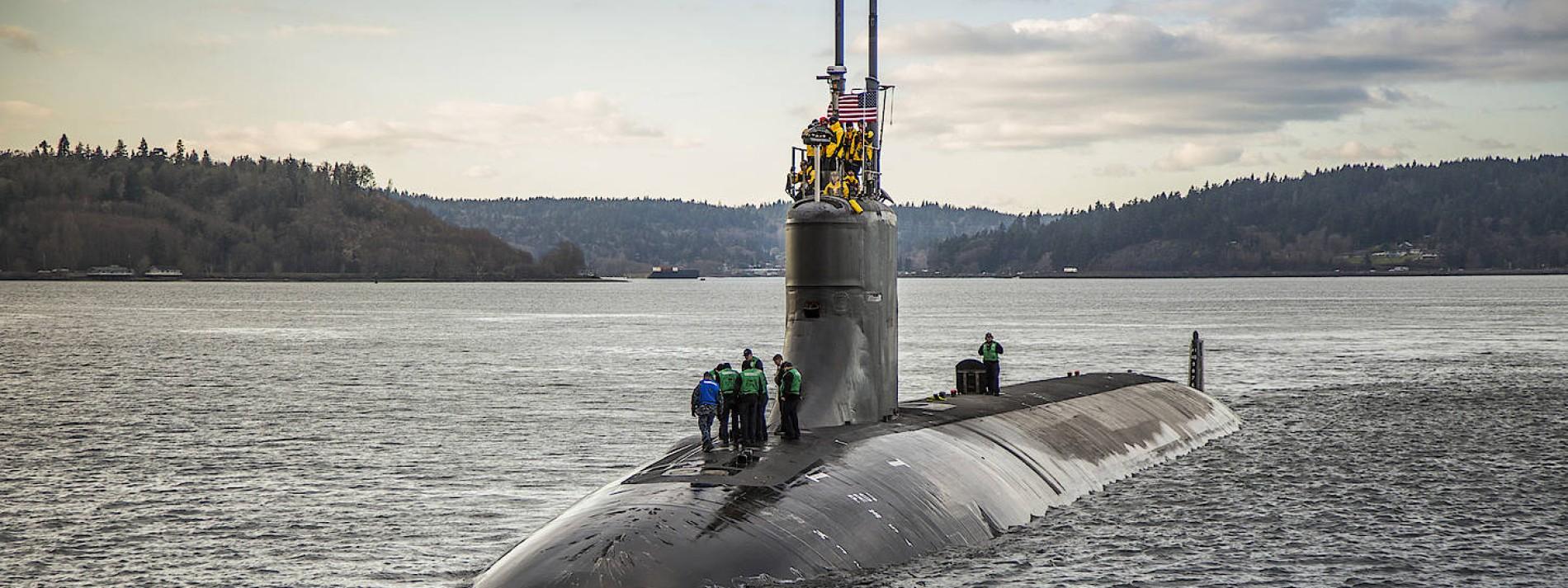 """""""USS Connecticut"""" erreicht Stützpunkt nach Kollision"""