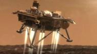 """""""Phoenix"""" funkt Bilder vom Mars"""
