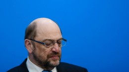 Schulz verzichtet auf Amt