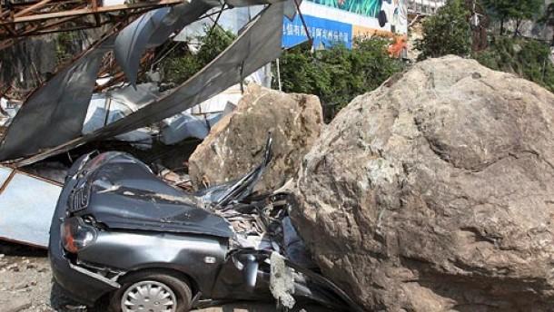 Knapp 70 Tote bei Erdbeben