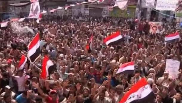 Salih in Saudi-Arabien - Opposition jubelt