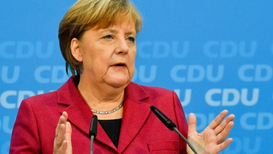 Merkel will eine stabile Regierung für Deutschland