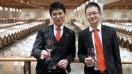 Chinesische Studenten werden zu Sommeliers