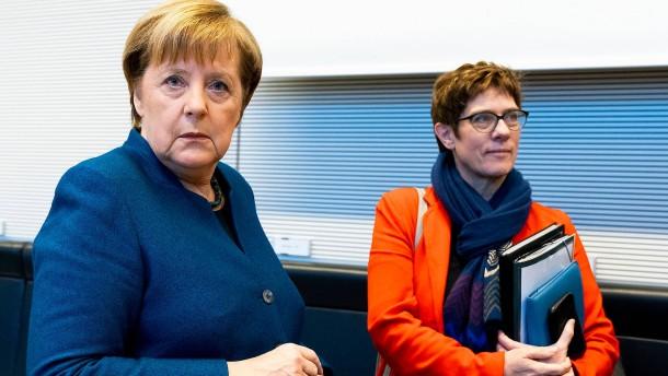 Merkel lässt sie laufen
