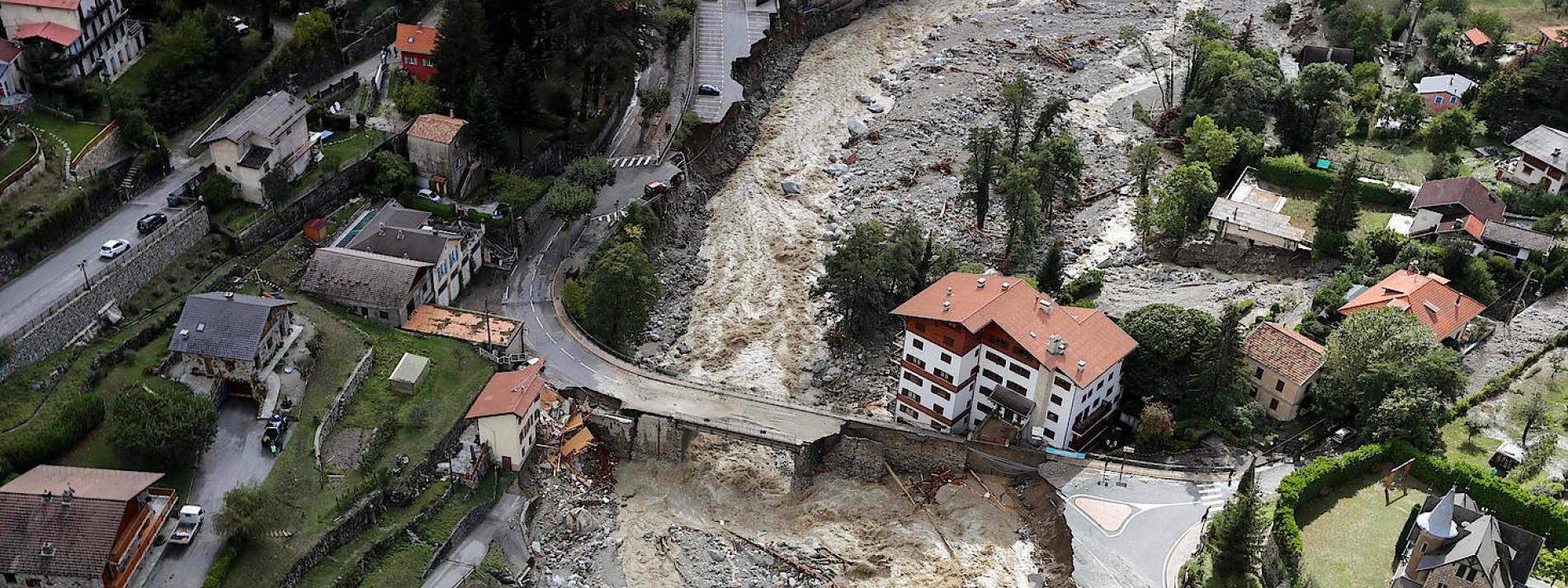 Luftaufnahmen zeigen Ausmaß der Zerstörung