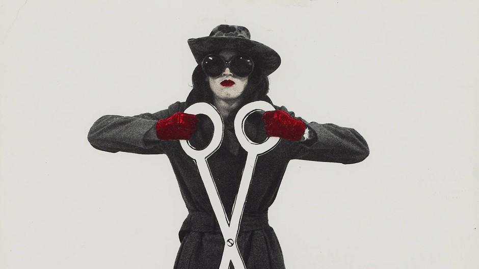 Superfrau mit Scherenwaffe: Die Pop-Art-Künstlerin Kiki Kogelnik subvertierte im New York der Sechziger weibliche Klischees.