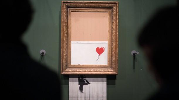 Hat Banksy seine Unschuld verloren?
