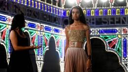 Dior schickt wieder Models über den Laufsteg