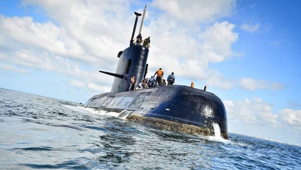 Argentinisches U-Boot bleibt vermisst