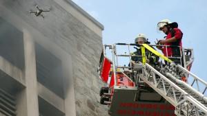 Feuer in Kirchturm ausgebrochen
