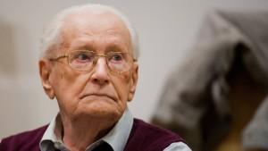 Früherer SS-Mann Oskar Gröning ist tot