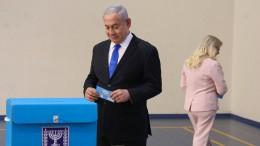 Likud und Blau-Weiß nach ersten Prognosen gleichauf