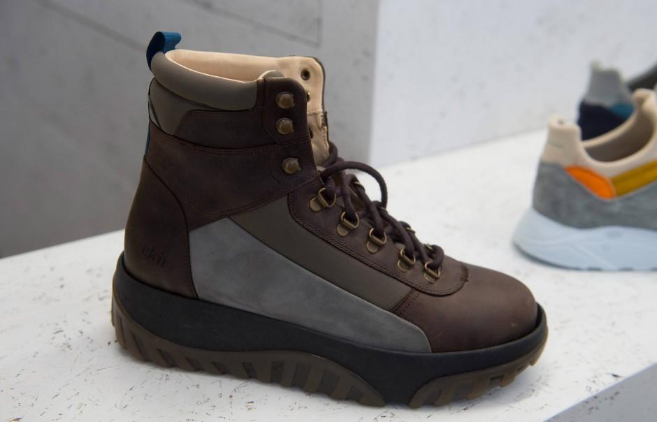 Qualität hat ihren Preis: Bis zu 200 Euro kosten die Schuhe von EKN.