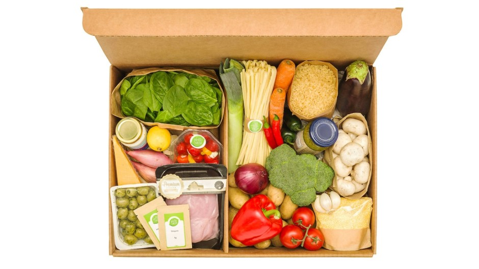 Eine Hellofresh-Kochbox