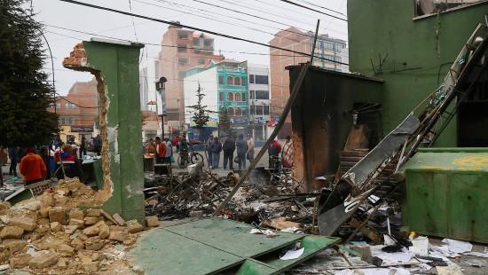 Furcht vor Bürgerkrieg in Bolivien