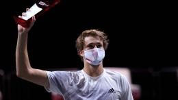 """Zverev gewinnt historisches """"Double"""" am Dom"""