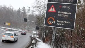 Wieder dicke Luft in Stuttgart
