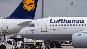 Lufthansa lässt jedes fünfte Flugzeug am Boden