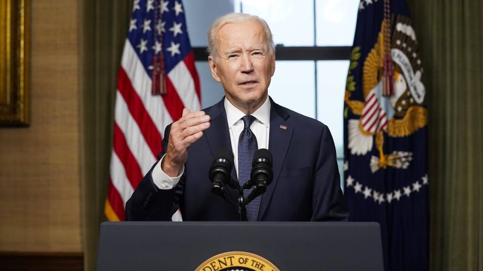 Amerikas Präsident Joe Biden will seine Truppen aus Afghanistan abziehen.