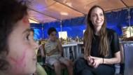 Angelina Jolie im türkischen Flüchtingslager