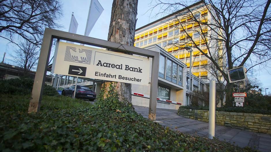 Die Zentrale der Aareal Bank in Wiesbaden.