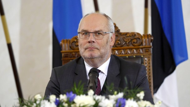 Alar Karis wird neuer Präsident