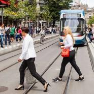 Heimat vieler Privatbanken: Blick in die Züricher Bahnhofstraße