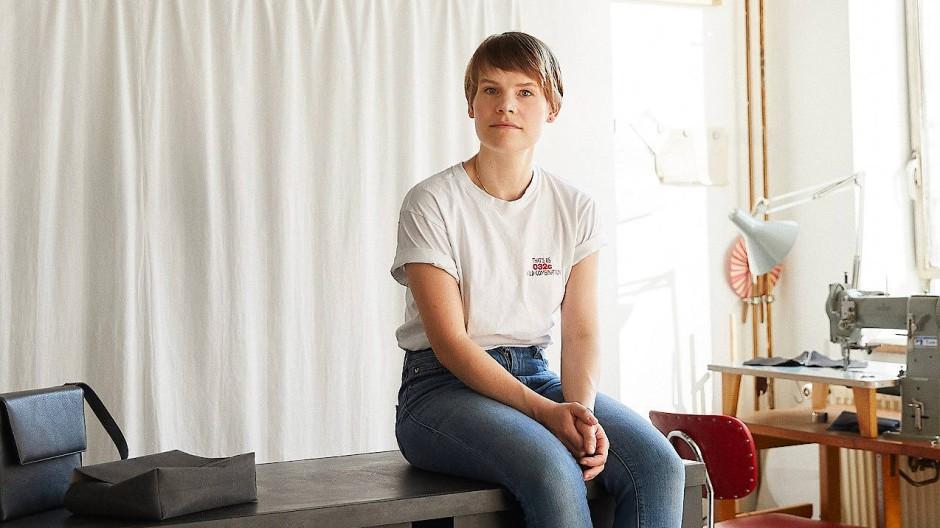 Hippes Handwerk: Leder-Designerin Valerie Sietzy