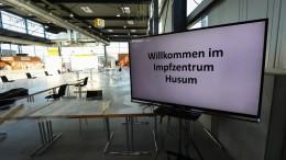 Aufbau von Impfzentren in Deutschland