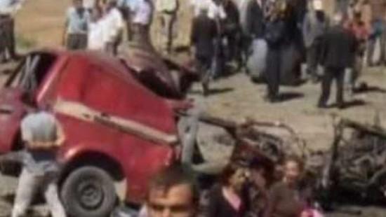 Attentat auf Kleinbus in der Türkei.