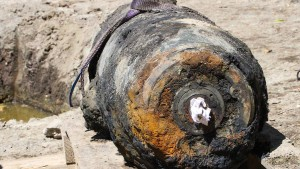 Weltkriegsbombe auf Messegelände gefunden