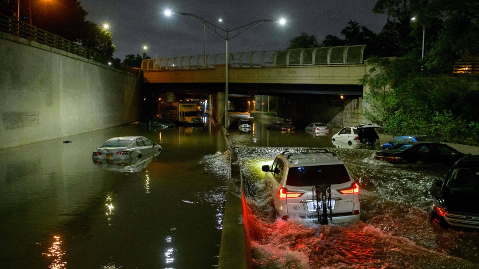 Tote in New York nach starken Regenfällen