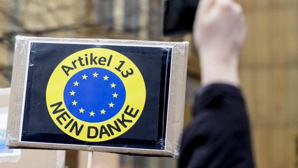 """Niemand in Europa will Zensur"""