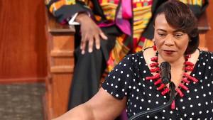 Tochter von Martin Luther King fordert Polizeireform