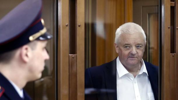 Norweger in Russland zu 14 Jahren Lagerhaft verurteilt