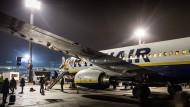 Öfter zu spät in Frankfurt: Ryanair