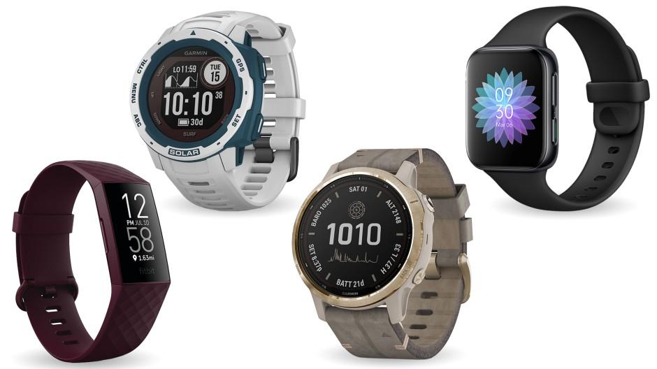Gegen diese vier Sportuhren muss die Apple Watch bestehen.