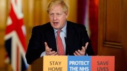 Boris Johnson positiv auf Corona getestet