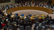 Soll es richten: Der UN-Sicherheitsrat.
