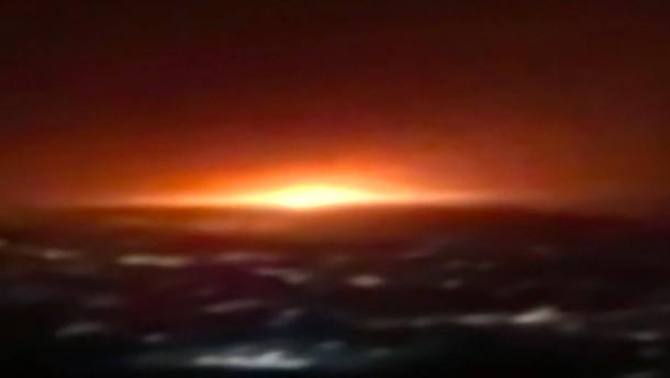 Gastank in Teheran explodiert