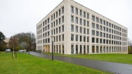 Das House of Finance der Goethe-Universität: Dort hat das Institute for Law and Finance seinen Sitz, an dem Hanns-Christian Salger lehrt.