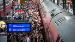 Der Bund steht hinter dem Frankfurter Fernbahntunnel