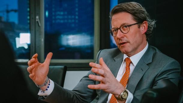 Verkehrsminister Scheuer entgeht strafrechtlichen Ermittlungen