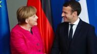 Merkel und Macron wollen Reform der EU