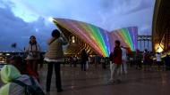Sydneys Opera als Regenbogen