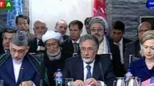 Der Westen setzt voll und ganz auf Karzai