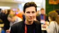 """Gründete den verschlüsselten Messengerdienst """"Telegram"""" und das russische Facebook """"VKontakte"""": Pawel Durow"""