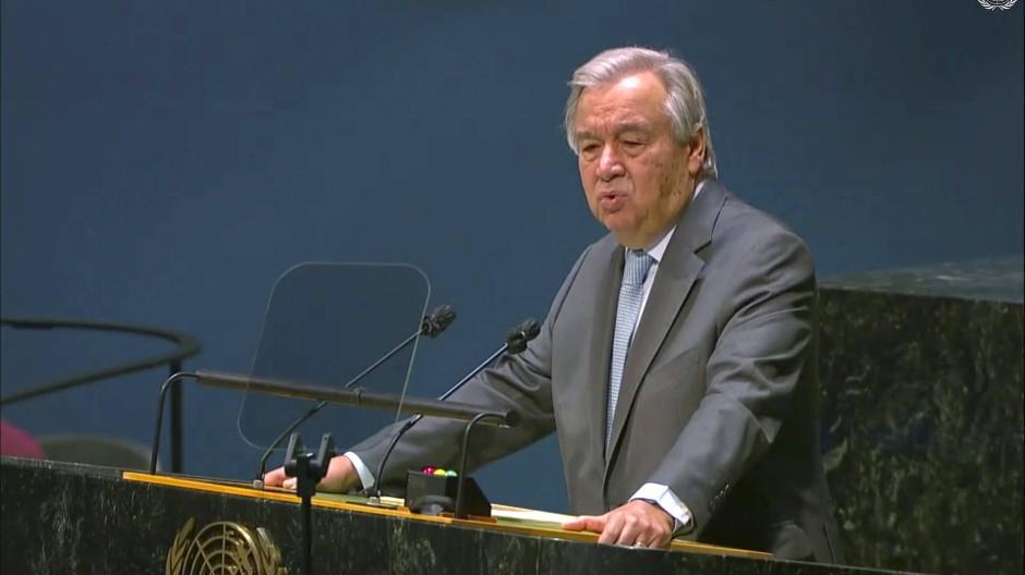 """UN-Generalsekretär warnt vor """"neuem Kalten Krieg"""""""